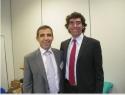 Jorge con il suo mentore, Dott. Dr. Josue Fernandez-Carnero.